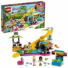 LEGO FRIENDS ANDREA POOL PARTY STEPHANIE & ANDRE 6+ 41374