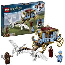 LEGO HARRY POTTER BEAUXBATONS CARRIAGE : ARRIVAL AT HOGWARTS 8+ 75958