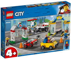LEGO CITY TOWN GARAGE 4+ 60232