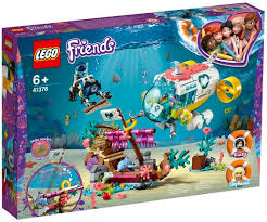 LEGO FRIENDS DOLPHIN RESCUE ACTION KACEY & STEPHANIE 6+ 41378