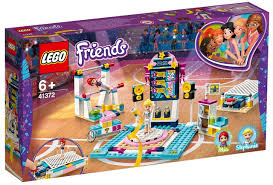 LEGO FRIENDS GYMNASTYC SHOW MIA & STEPHANIE 6+ 41372