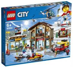 LEGO CITY TOWN SKI RESORT 6+ 60203