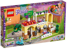 LEGO FRIENDS HEARTLAKE CITY RESTAURANT LILLIE, ETHAN & EMMA 6+ 41379