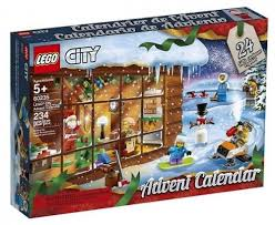 LEGO CITY ADVENT CALENDAR SNOW SCENE 5+ 60235