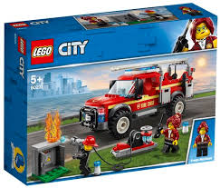 LEGO CITY FIRE CHIEF RESPONSE 5+ 60231