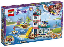 LEGO FRIENDS LIGHTHOUSE RESCUE STATION EMMA & MIA 6+ 41380