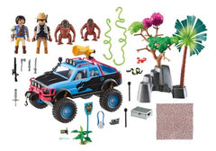 PM SUPER 4 MONSTER TRUCK W ALEX & ROCK - Wild Willy - Toys Lebanon