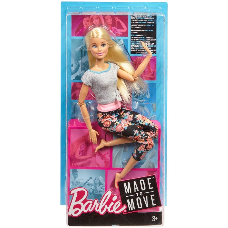 MT BARBIE MADE TO MOVE NEW FALL ASST FIG80 3+ - Wild Willy - Toys Lebanon