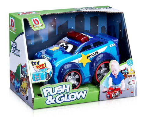 BBJUNIOR Push & Glow police car