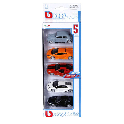 BU STREET FIRE PACK OF 5 PCS 1:64 - Wild Willy - Toys Lebanon