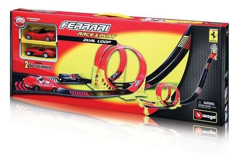 Bburago Ferrari Race and Play Dual Loop - Wild Willy - Toys Lebanon