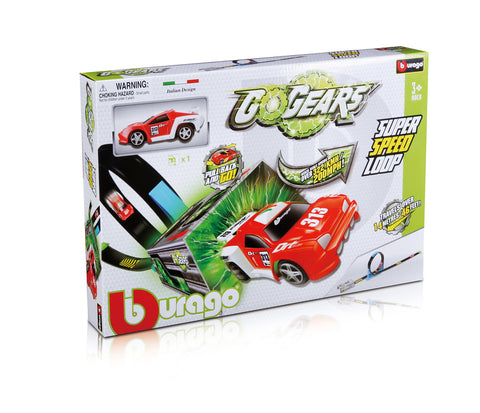 BU GOGEARS SINGLE LOOP 1 CAR - Wild Willy - Toys Lebanon