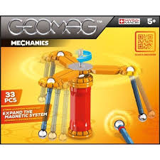 Geomag MECH 33 PCS 5+ GM720 - Wild Willy - Toys Lebanon