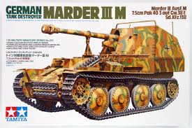 Tamiya MARDER III M GERMAN TANK DESTROYER ( TY35255N ) - Wild Willy - Toys Lebanon