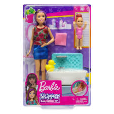 MT BARBIE SKIPPER BABYSITTER INC PLAYSET ASST FHY97 - Wild Willy - Toys Lebanon