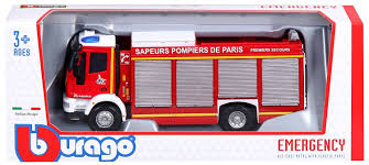 BU EMERGENCY IVECO MAGIRUS RW FIRE ENGINE 1:55 - Wild Willy - Toys Lebanon