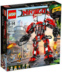 LG NINJAGO FIRE MECH (70615) - Wild Willy - Toys Lebanon