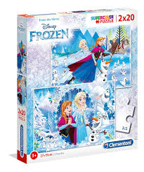 CL DISNEY FROZEN 2*20PCS 27*19CM 3+ - Wild Willy - Toys Lebanon