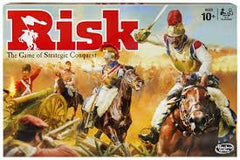 HB Risk the game of strategic conquest 2-5 p . 10+y - Wild Willy - Toys Lebanon