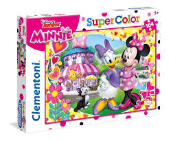 CL DISNEY JUNIOR MINNIE 104PCS 5+ - Wild Willy - Toys Lebanon