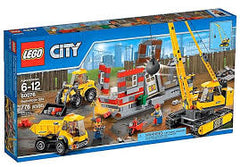 LG CITY DEMOLITION SET 6-12Y LG60076 - Wild Willy - Toys Lebanon