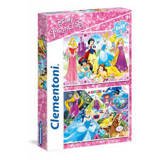 CL 2X20PCS SUPERCOLOR DISNEY PRINCESSES 3+ 27*19CM - Wild Willy - Toys Lebanon