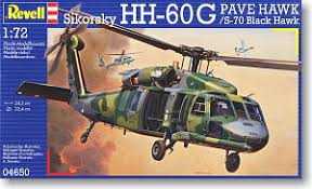 Revell SIKORSKY HH-60G PAVE BLACK HAWK 1:72 - Wild Willy - Toys Lebanon