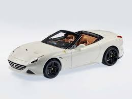 Ferrari California T open white 1:24 Bburago - Wild Willy - Toys Lebanon