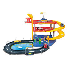 BU STREET FIRE PARKING PLAYSET - Wild Willy - Toys Lebanon