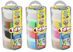CRAZE FLO MEE AIR DRYING DOUGH REFILLS ASST 5+ - Wild Willy - Toys Lebanon