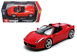 BU FERRARI 458 SPIDER 1:24 - Wild Willy - Toys Lebanon