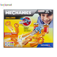 Geomag MECHANICS CHALLENGE 95PCS GM771 - Wild Willy - Toys Lebanon
