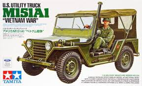 Tamiya M151A1 US UTILITY TRUCK VIETNAM WAR ( TY35334N ) - Wild Willy - Toys Lebanon