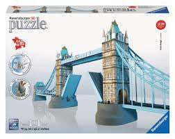 Ravensburger Tower Bridge 3d Puzzle - Wild Willy