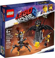 LG THE LEGO MOVIE 2 BATTLE-READY BATMAN AND METALBEARD 6+ LG70836 - Wild Willy - Toys Lebanon