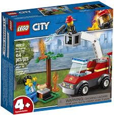 LG CITY FIRE TRUCK- BARBCUE 4+ 60212 - Wild Willy - Toys Lebanon