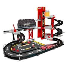 BU FERRARI RACING GARAGE w/1car - Wild Willy - Toys Lebanon