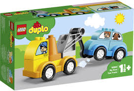 LG DUPLO MY FIRST TOW TRUCK 1 1/2+ 10883 - Wild Willy - Toys Lebanon