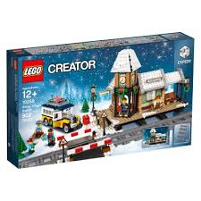 LG CREATOR EXPERT WINTER VILLAGE STATION 902 PCS 10259 12+ - Wild Willy - Toys Lebanon