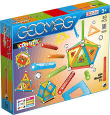 GEOMAG CONFETTI 50 PCS 3+ GM352 - Wild Willy