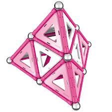 GEOMAG PINK PANELS 22 PCS ( GM340 ) - Wild Willy - Toys Lebanon