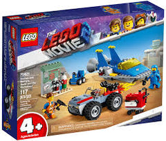 LG THE LEGO MOVIE 2 EMMET AND BENNYS BUILD AND FIX WORKSHOP 4+ LG70821 - Wild Willy - Toys Lebanon