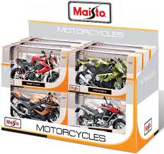 MS MOTORCYCLE ASSORTED 1:12 ( MS31101 ) - Wild Willy - Toys Lebanon