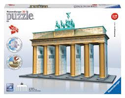 Ravensburger 3d Puzzles Brandenburg Gate Berlin - Wild Willy
