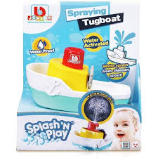 BBJ SPLASH & PLAY SPRAYING TUGBOAT 12 -36M - Wild Willy - Toys Lebanon