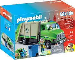 PM CITY LIFE GREEN RECYCLING TRUCK (PM5679) - Wild Willy - Toys Lebanon