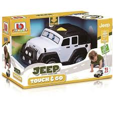 BBJ JEEP TOUCH & GO JEEP WRANGLER UNLIMITED - Wild Willy - Toys Lebanon
