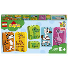 LG DUPLO MY FIRST FUN PUZZLE 1 1/2+ 10885 - Wild Willy - Toys Lebanon