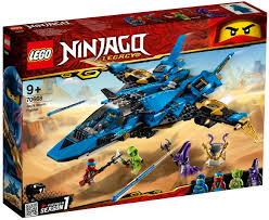 LG NINJAGO LEGACYJAY STORM FIGHTER 70668 - Wild Willy - Toys Lebanon
