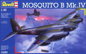 Revell KIT MOSQUITO B MK IV 1:48 ( RV04555 ) - Wild Willy - Toys Lebanon